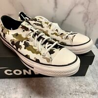 Converse Chuck Taylor All Star Allover Camo Low Top Shoes Mens 8 Womens 10