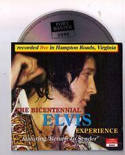 Elvis Presley CD The Bicentennial Elvis Experience - Live Hampton Roads/Virginia
