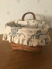 Price Drop 1993 Longaberger Ambrosia Basket, Liner And Protector Excellent Cond