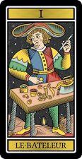 Big sticker 75x38 The Magician Tarot de Marseille Major Arcana Le Bateleur Joker