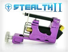 STEALTH 2.0 SET Aluminum Rotary Tattoo Machine Liner Shader Supply Ink (PURPLE)
