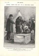 1906 M Dujardin-beaumetz John Hassall Lobster Problem Cartoon