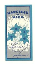 Karte Parfumee Antike Narcisus Nizza Hosi Parfumeur
