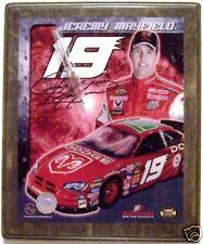 JEREMY MAYFIELD DODGE SIGNATURE NASCAR PHOTO CLOCK