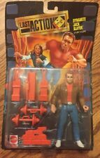 VINTAGE Collectible 1993 LAST ACTION HERO DYNAMITE JACK SLATER STUNT FIGURE NEW