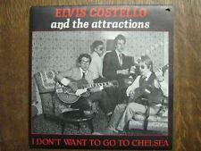 ELVIS COSTELLO 45 TOURS BELGIQUE I DON'T WANT TO GO (2)