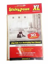 STICKY PAWS CAT FURNITURE STRIP 9X12. 5 XL SHEETS. TO THE USA