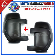 RENAULT MASTER OPEL VAUXHAL MOVANO 2010- Mirror Cover LEFT & RIGHT x 2 pcs NEW !