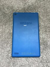 Amazon Fire 7 Tablet: Alexa,Quad Core,Fire OS, WiFi - 8GB - Marine Blue