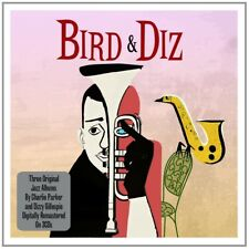 DIZZY & PARKER,CHARLIE GILLESPIE - BIRD & DIZ 3 CD NEUF