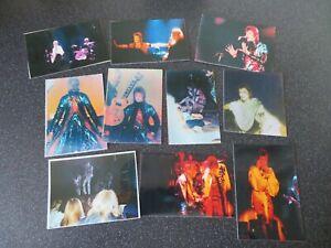 David Bowie - PHOTOS -1973 - V RARE Fan Pics - Ziggy Stardust UK Tour x 10
