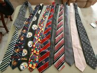 Mens Tie Lot Of 53 For Resale