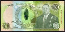 Tonga; National Reserve Bank. 50 pa'anga. (2015). Series A. (Pick; 48). AU-UNC.