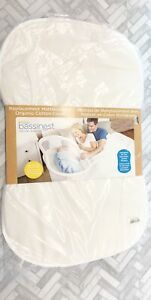 Halo Bassinest Swivel Sleeper Mattress Covered With Organic Cotton + Pad Cover