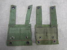 Lot of 2 OD Green Alice Clip Molle Adapters (Not K-Bar)  Used