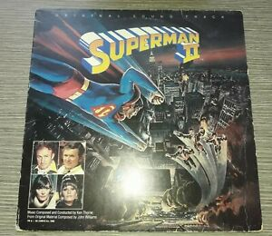 LP Superman II  Soundtrack-John Williams WARNER BROS 1980  VG+
