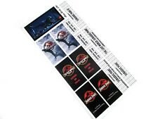 STICKERS for LEGO 10232 10184 cinema builds, Jurassic Park trilogy theme