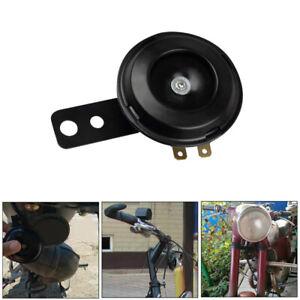 12V 105db Loud Motorcycle Car Electric Bike ATV Horn Waterproof Black Universal