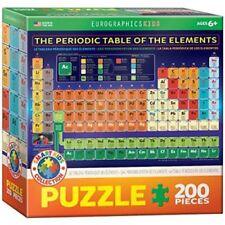 Puzzles multicolores en carton avec 100 - 249 pièces