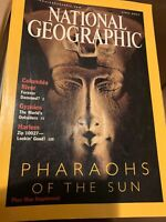 National Geographic Magazine, Pharaohs of the Sun, April 2001