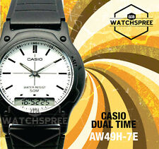 Casio Analog Digital Dual Time Watch AW49H-7E