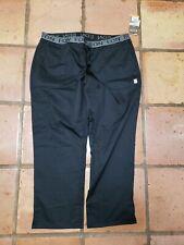 EON Scrubs Extra Large Pants Black Style #7348p. Sz.2XL.