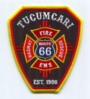 Tucumcari Fire Rescue Department Patch New Mexico NM