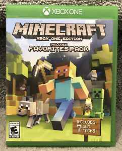Minecraft Xbox One Edition Favorites Pack Video Game Build Create Explorer