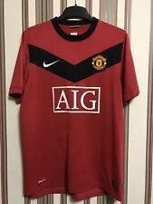 Nike Manchester United 2009/10 Home Top Shirt Soccer Sz M 355091-623