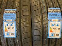 4x Pneu 20 Pouces Rotalla pour BMW X5 X6 Pneus d'hiver 275/40 20 et 315/35 20