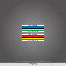 07321 De Rosa Cusano M Tubing Stripes / Bands Bicycle Sticker - Decal - Transfer