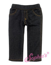 "Black Jeggings Jeans fits 18"" American Girl Doll Denim Pants leggings"