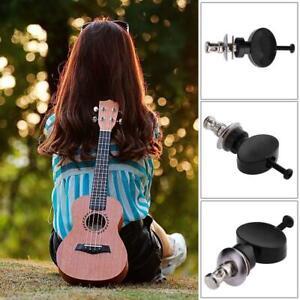 4pcs String Tuning Pegs Machine Heads for Ukulele 4-String Guitar (Black)