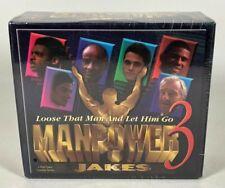 Manpower 3 Jakes 4-Part Video Cassette Series * Brand New! - Sealed