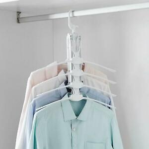 Magic 8 in 1 Folding Clothes Coat Rack Travel Hanger Storage with 360° Rotation