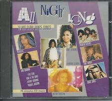 V/A - All Night Long - 16 Hot slow Dance songs CD Album 16TR (EVA) 1986 HOLLAND