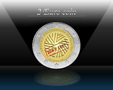 "LATVIA 2 EURO 2015 "" Presidency of the European Union "" Commemorative Coin *UNC"