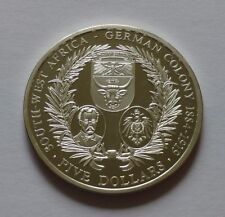 Northern Mariana Islands 5 Dollars 2004, South-West Africa - German colony