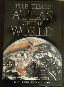 Times Atlas of the World : 10th Comprehensive Edition by London Times