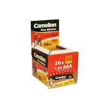 Set de 10 pilas Camelion Alcalina Plus AAA LR03, 2 lotes comprados = 1 Lot