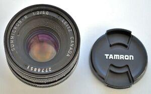 Leitz  Canada Summicron R 50 mm f2 lens 2/50 for Leica camera