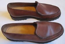 COLE HAAN-Women's Shoes/Loafers-Frankie-Burnt Siena/Brown-Size 7.5M