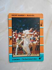 SCANLENS STIMOROL 1988/89 CRICKET CARD - Geoff Marsh # 62 (Aus)