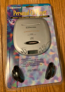 BRAND NEW VINTAGE EMERSON PERSONAL CD PLAYER HD6010 DEAD STOCK SEALED