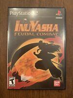 Inuyasha: Feudal Combat (Sony PlayStation 2, 2005) Tested!