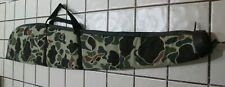"Camouflage Soft Cloth Padded Shotgun Case. 40"" long"