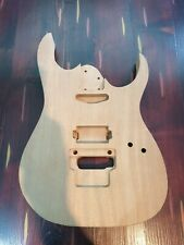 More details for sapele rg 465 style guitar body