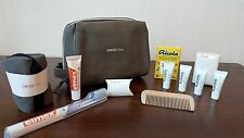 SWISS AIR LINES First Class LA PRAERIE Amenity Kit Bag Washbag Trousse NEW