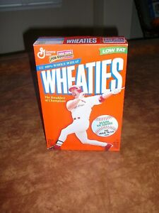 Wheaties Mark McGwire 70 Home Runs 1998-Empty
