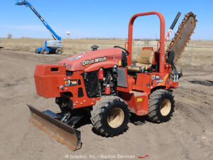 2016 Ditch Witch RT45 4WD Diesel Trencher Tractor Side Shift Dozer Blade bidadoo